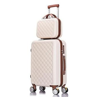 Rolling Luggage Travel Suitcase Set Spinner Trolley Case
