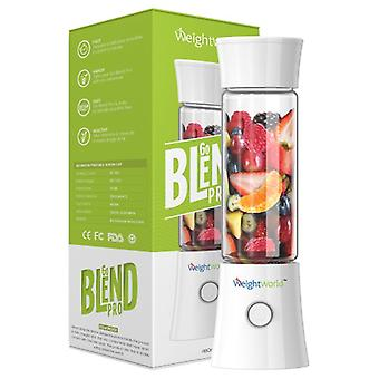 Go Blend Pro - Portable Blender & Juice Cup - For Smoothies & Shakes - Lightweight, Durable & Rechargeable