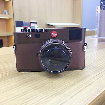 Nicht arbeiten gefälschte Dummy DSLR Kamera Modell Foto Studio Requisiten für Leica M (Dark Coffee)