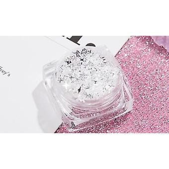 Gel à paillettes holographique pour le visage, le corps et les cheveux - Maquillage liquide
