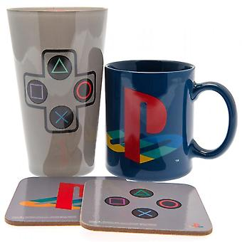Playstation Drinkware Set