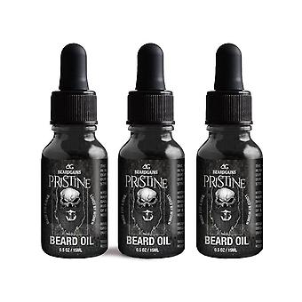 Pristine Beard Growth Oil 3 Pack
