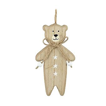 Wooden Bear Hanger