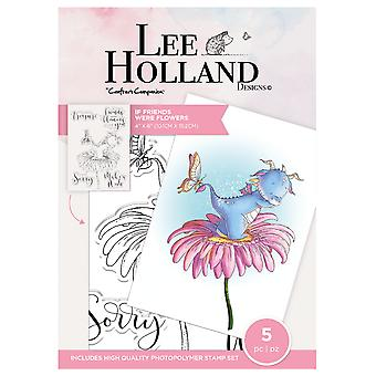 Crafter's Companion Lee Holland Clear Stamps If Friends Were Flowers