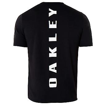 Oakley Mens Ellipse Star T-Shirt Gráfico Casual Top Preto 457356 02E