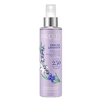 Yardley English Lavender Fragrance Mist 200ml Spray