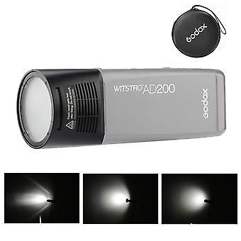 Godox h200r ring flash hoofd scheidingskop extensie hoofd draagbaar met spiraalflits voor godox ad200 fla