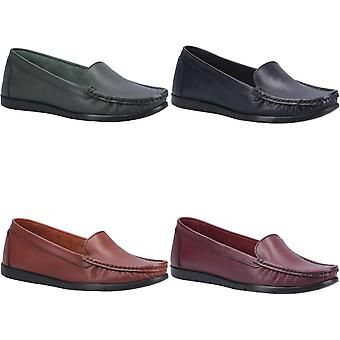 Fleet & Foster Womens/Ladies Tiggy Leather Loafers