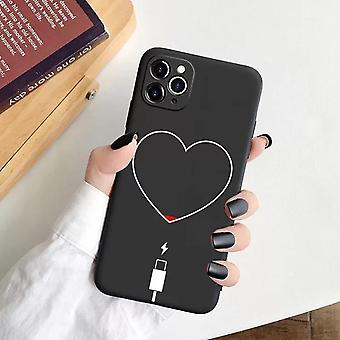 iPhone 12 Pro Max shell batterie fin heart love charge