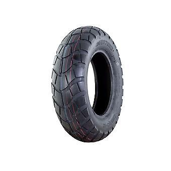120/90-10 Tubeless Tyre - D809 Tread Pattern