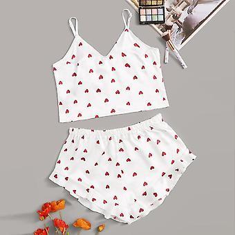 Dámske pyžamá čipka hodvábne spodné prádlo oblečenie