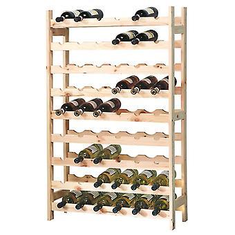 Xxl fsc® fyrvinholder til 54 vinflasker