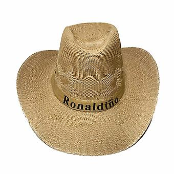 Summer Sunscreen Breathable Cowboy Men Fashion Letter Hat