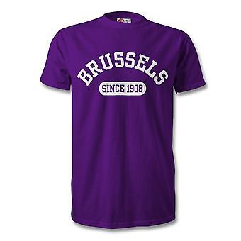 Anderlecht 1908 perustettu Football t-paita