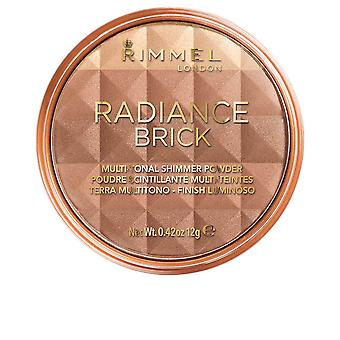 Rimmel London Radiance Brick Polvere shimmer multitonale #003 per le donne