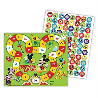 Mickey Mouse Clubhouse Mickey Park 36 Mini Tabla de Recompensas Plus 700 Pegatinas