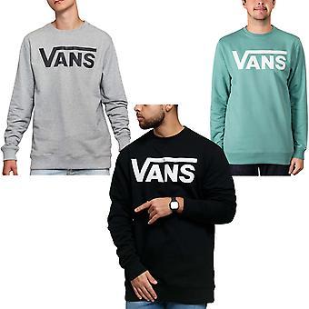Vans Mens Classic Crew Neck Pullover Casual Hoodie Sweatshirt Top
