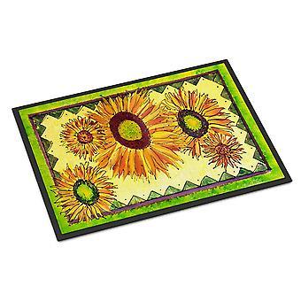 Caroline's Treasures Flower Sunflower Zerbino interno o esterno, 24 x 36, Multicolor