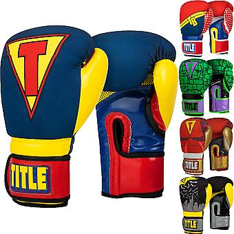 Title Boxing Infused Foam Training Boxing Gloves