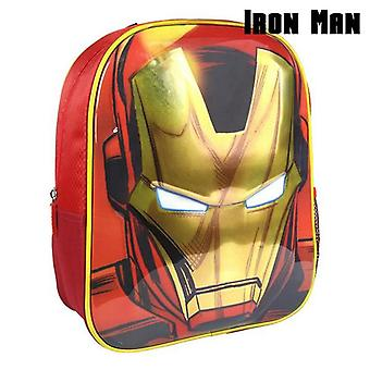 3D child bag iron man the avengers 72613 red