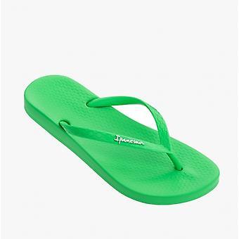 Ipanema Anatomic Colores Señoras Flip Flops Verde Brillante