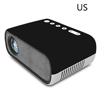 Yg280 mini projector high definition 1080p portable home theater film live games led micro projector