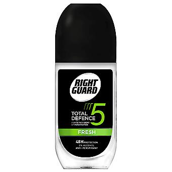 Right Guard 6 X Right Guard Total Defence Roll On - Fresh