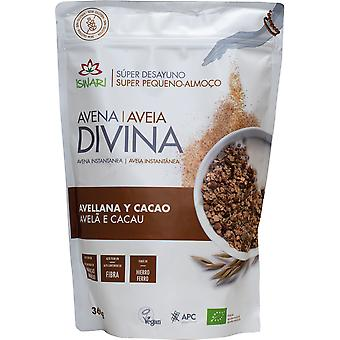 Iswari Bio Avena Divina with Hazelnut and Cocoa 360 gr