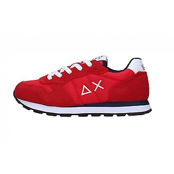 Shoes Baby Sun68 Sneaker Boy's Tom Solid Nylon Red Zs21su12 Z31301