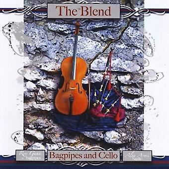 Gunn, Roy & Alex Averi - Blend: Cornamuse & violoncello [CD] USA importare