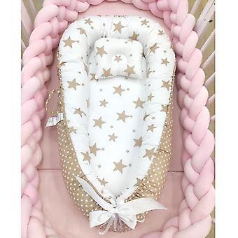 Vauvanpesä, Bed Irrotettava pinnasänky, Matkavauva tyynytyynyllä, Lapsi