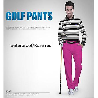 Pgm Authentic Golf Pants Men Waterproof Trousers Soft Breathable Golf Clothing