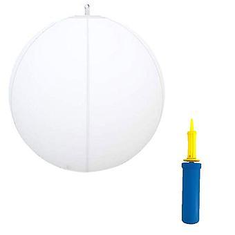 Brinquedo de piscina, bola brilhante, equipamento inflável de jogo de água da praia,