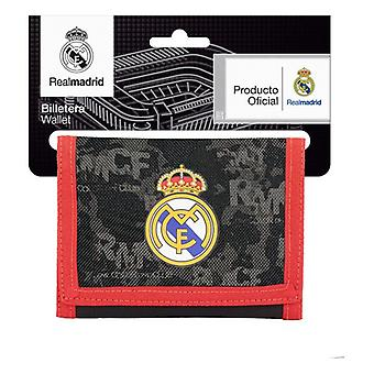 Monedero Real Madrid C.F. Negro