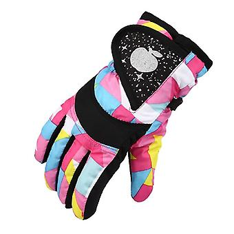 Girls Waterproof Warm Gloves