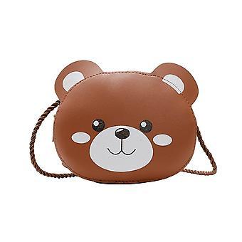 Lasten crossbody laukut, söpö sarjakuva eläinkolikon käsilaukku, käsilaukku, lompakko, pieni