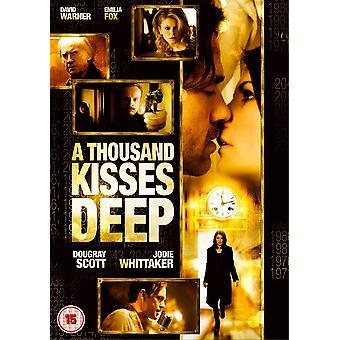 Tuhat suukkoa syvä DVD