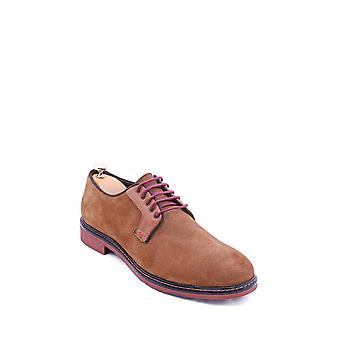 Suede tawny casual shoes | wessi