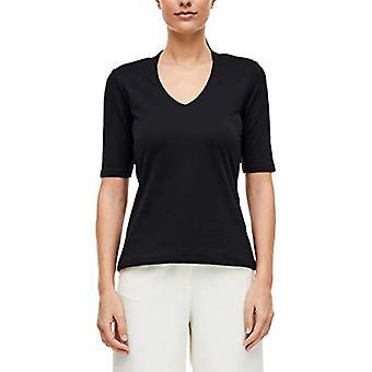 s.Oliver BLACK LABEL 150.10.003.12.130.2014431 T-Shirt, Black, 42 Woman