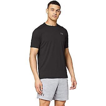 تحت درع التكنولوجيا 2.0 -- الرجال قصيرة الأكمام تي شيرت ، والرجال ، قميص قصير الأكمام ، 1345317 ، أسود / خطوة رمادية (001) ، XS