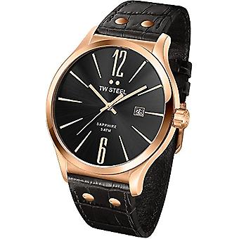 TW Steel Analog Quartz Wristwatch TW1303_rose gold