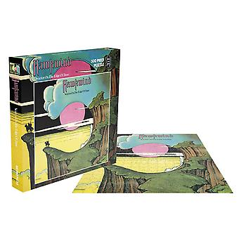 Hawkwind Jigsaw Puzzle Warrior On The Edge Of Time new Official 500 Piece