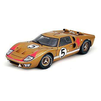 Ford GT40 Mk II Ronnie Bucknum - Dick Hutcherson (Le Mans 24Hrs 3rd Place 1966) Diecast Model