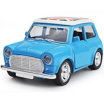 New Cartoon Mini Classic Car Beetle Alloy Pull Back Model Children's Toy Car Blue ES11508