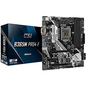 アスロック B365M PRO4-F インテル B365 1151 マイクロ ATX 4 DDR4 クロスファイア VGA DVI HDMI M.2