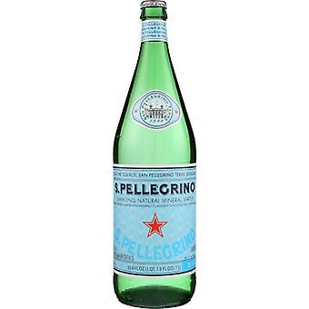 San Pellegrino Water Mineral, Case of 12 X 33.8 Oz