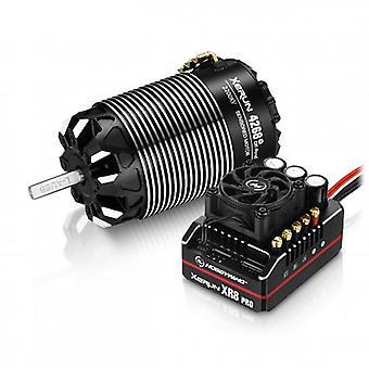 Hobbywing Combo Xr8 Pro G2 Esc & 4268 G3 Off 2200Kv Motor (B)