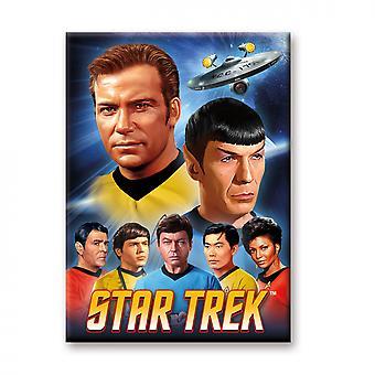 Star Trek Original Gruppenmagnet