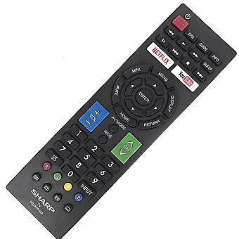 Remplacer GB234WJSA pour Sharp TV Remote Control NETFLIX YouTube RRMCGB234WJSA
