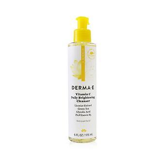 Derma E Vitamin C Daily Brightening Cleanser 175ml/6o